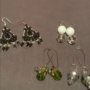Express earrings FOUR pack!